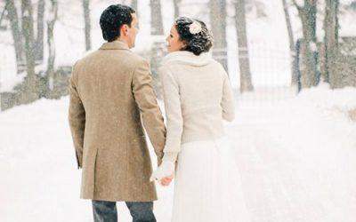 Bodas de invierno, bodas en la nieve